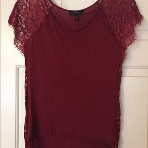 Jessica Simpson top with lace detail